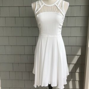 Dresses & Skirts - White Cutout Dress